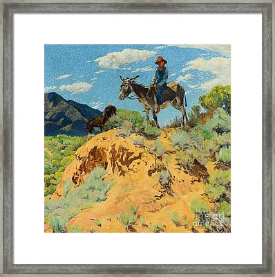 The Watcher Framed Print by MotionAge Designs