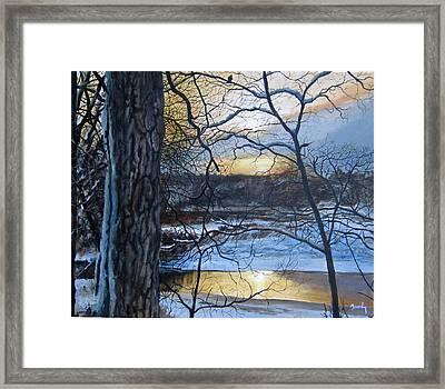The Watcher Framed Print by William Brody