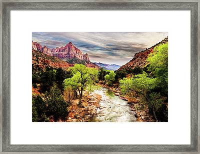 The Watchman 2 Framed Print