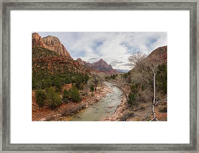 The Watchman 4644 Framed Print