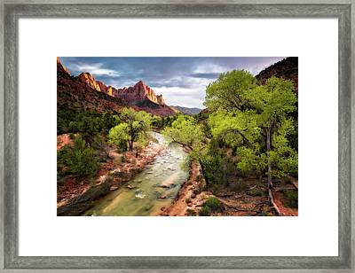 Framed Print featuring the photograph The Watchman by Eduard Moldoveanu