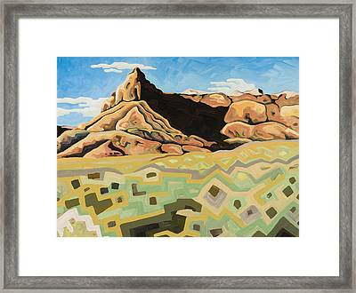 The Watchtower Framed Print by Dale Beckman