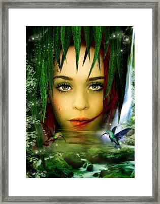 The Water Bearer Framed Print by Julie L Hoddinott