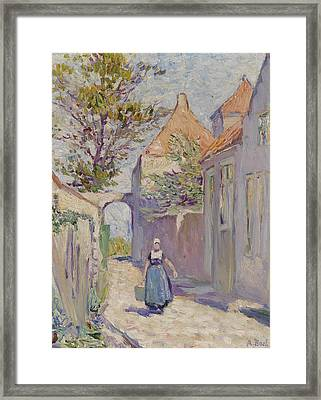 The Water Carrier Framed Print by Anna Boch