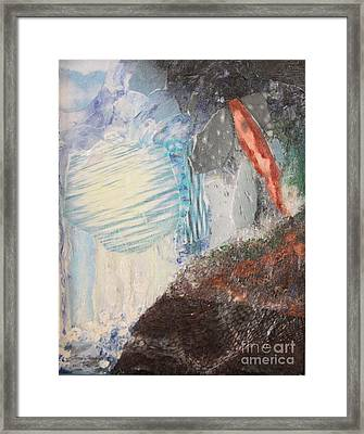 Framed Print featuring the painting The Water Cycle by Terri Thompson