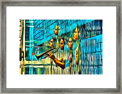 The Water Musician Framed Print