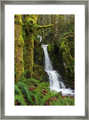 The Water Staircase Framed Print
