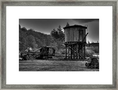 The Water Tower Framed Print by David Patterson