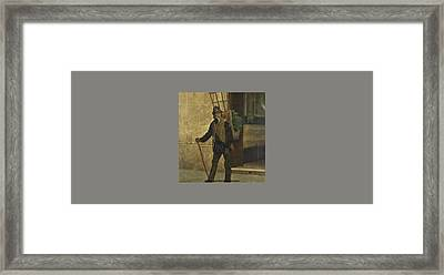 The Watercress Seller Framed Print