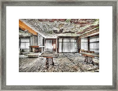 The Waterfall Hotel - L'hotel Della Cascata Framed Print