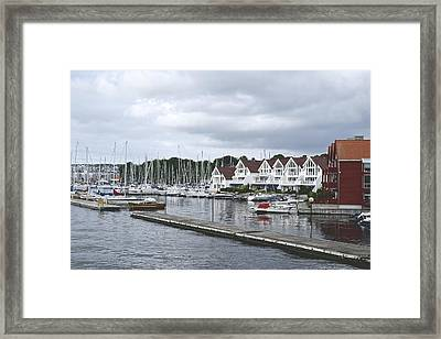 The Waterfront Framed Print