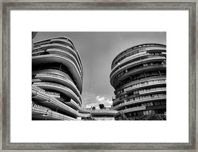 The Watergate Hotel II Framed Print
