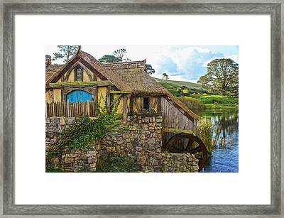 The Watermill, Bag End, The Shire Framed Print