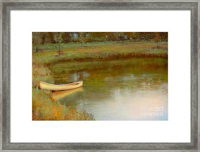 The Water's Edge Framed Print by Lori  McNee