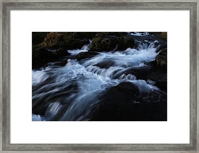 The Waters Of Kirkjufell Framed Print
