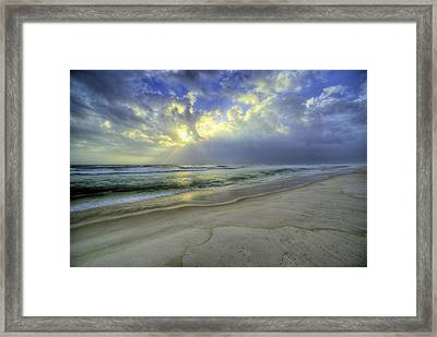 The Waters Of Panama City Beach Framed Print