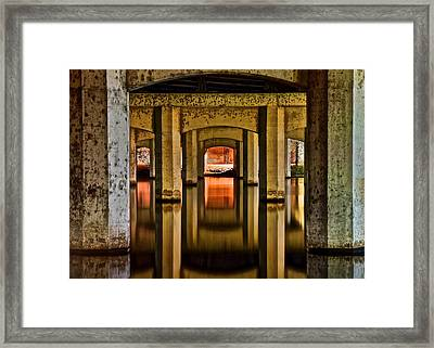 The Waters Reflect Framed Print by Frozen in Time Fine Art Photography
