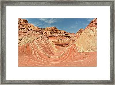 The Wave Framed Print