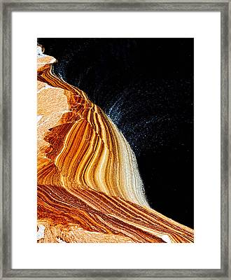 The Wave Framed Print by Louis Dallara