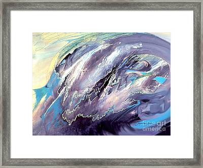 The Wave That Never Crashes Framed Print