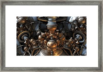 The Way Back Machine Framed Print