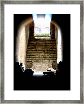 The Way Framed Print by Chuck Shafer