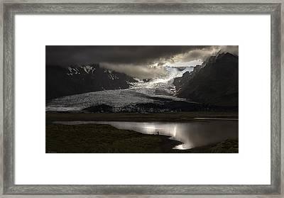 The Way For Heaven Framed Print by Pagniez