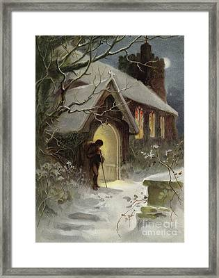 The Way Home Framed Print by English School