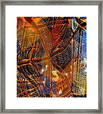 The Way I Come To You Framed Print by Fania Simon