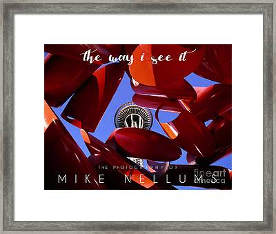The Way I See It Coffee Table Book Cover Framed Print