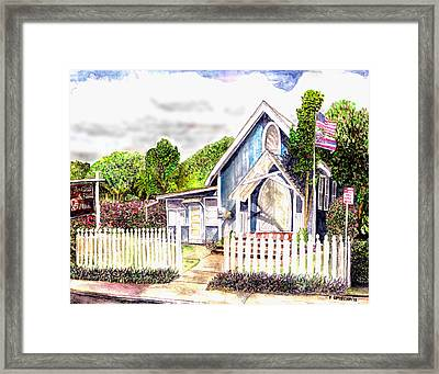 The Way Inn Framed Print