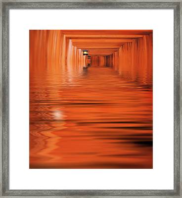 The Way Framed Print by Jacky Gerritsen