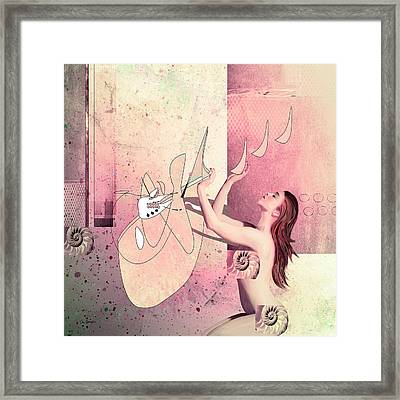 The Way Of All Flesh Framed Print