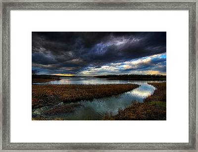 The Way Of The River Framed Print