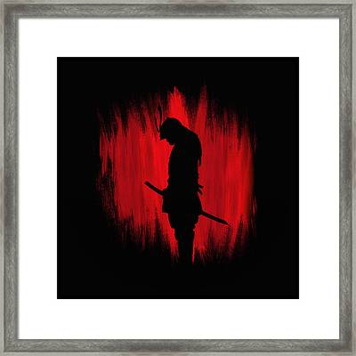 The Way Of The Samurai Warrior Framed Print