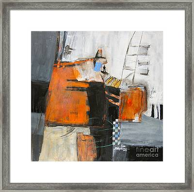 The Way Out Framed Print by Ron Stephens