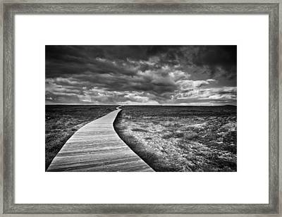 The Way Framed Print by Santiago Pascual Buye