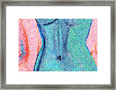 The Way She Moves 2 Framed Print by Angelina Vick