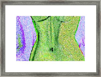 The Way She Moves 3 Framed Print by Angelina Vick