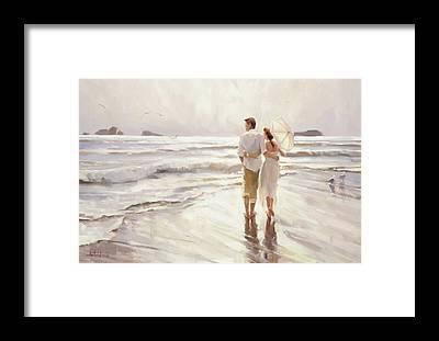 Loving Couple Framed Prints