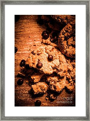 The Way The Cookie Crumbles Framed Print