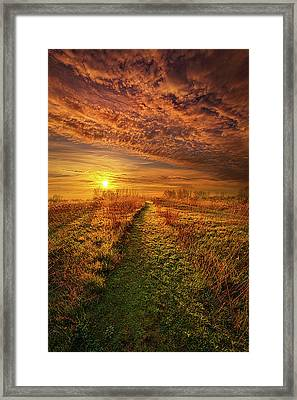 The Way The Truth And The Life Framed Print