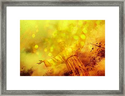 The Way, The Truth, The Life Framed Print by Joel Witmeyer