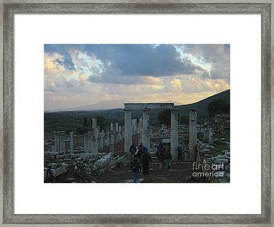 The Way Through Messenia  Framed Print by Clay Cofer