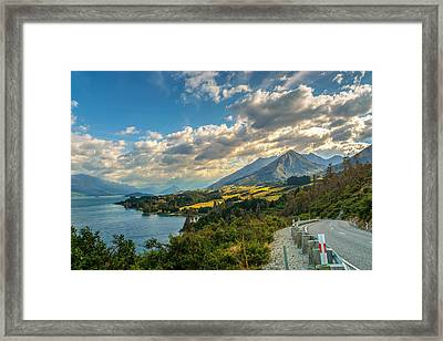 The Way To Glenorchy Framed Print