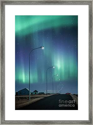 The Way To Light Framed Print