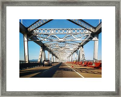 The Way To New Orleans Framed Print