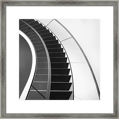 The Way Up And Down Framed Print by Gerard Jonkman
