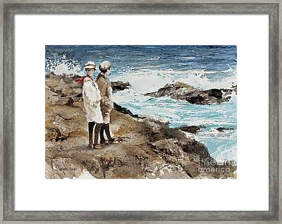 The Way We Were Framed Print by Monte Toon