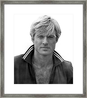 The Way We Were, Robert Redford, 1973 Framed Print by Everett